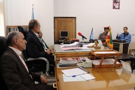 نخستین جلسه محاکمه متهمان قتل ستوان دوم محمود رفیعی برگزار شد