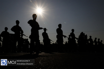 اختتامیه دوره آموزش یگان واکنش سریع ارتش