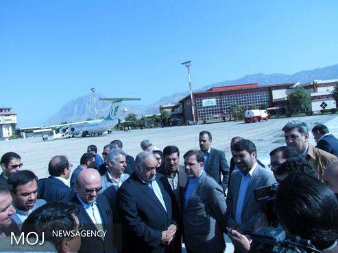 وزیر راه و شهرسازی از طرح توسعه فرودگاه خرمآباد بازدید کرد