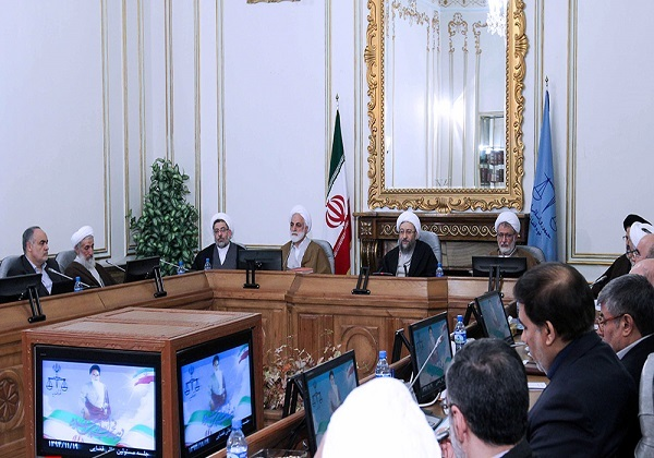 جلسه مسئولان عالی قضایی آغاز شد