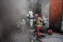 حریق در رستوران مملو از مشتری/ نجات 7 نفر از میان آتش