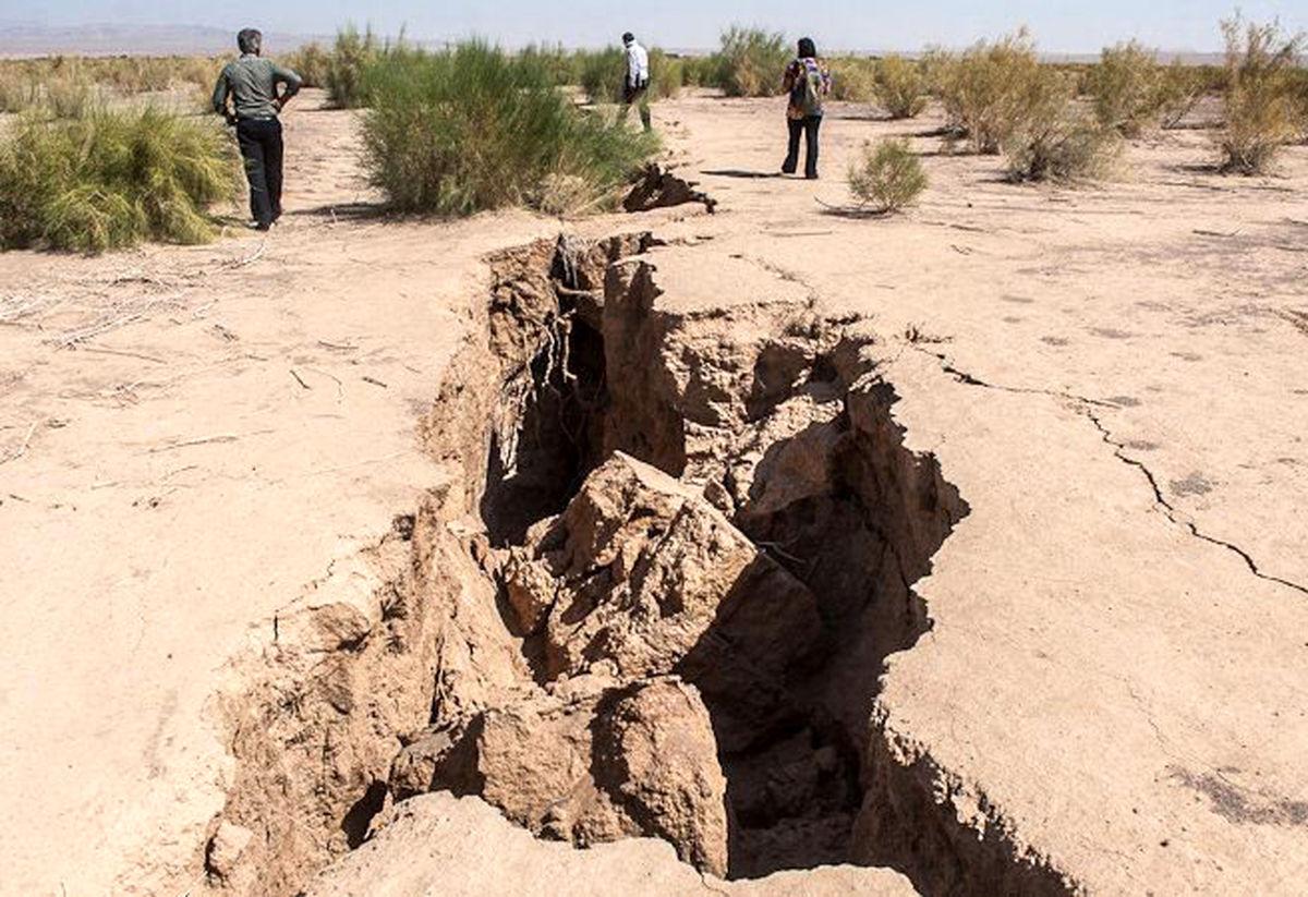 فاجعه پنهان پدیده فرونشست زمین در استان اصفهان