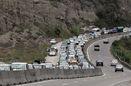 آخرین وضعیت ترافیکی جاده های کشور/ تردد وسایل نقلیه در محورکندوان روز جمعه ممنوع شد