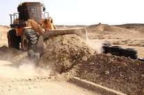 """رفع تصرف بیش از 60 هزار مترمربع از اراضی ملی شهرستان """"میناب"""""""