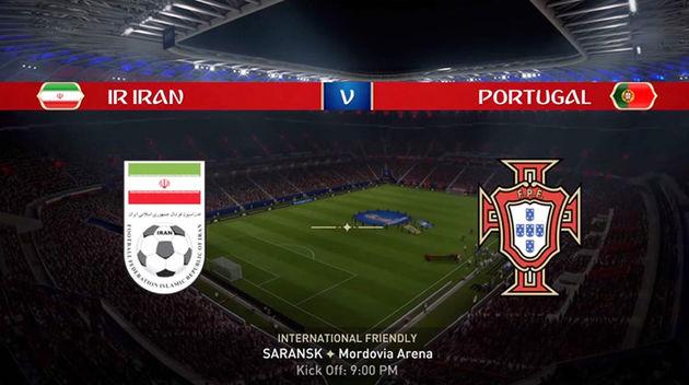 مجوز پخش دیدار تیم ملی ایران در مقابل پرتغال صادر شد