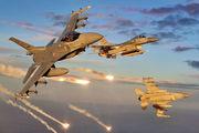جنگنده های ارتش ترکیه به مواضع