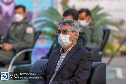 افتتاح بیمارستان صحرایی ۱۰۰ تخته ارتش منطقه اصفهان