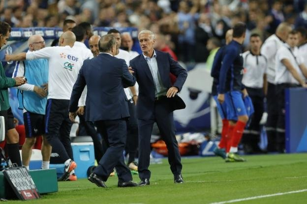 دشان: قدرت فوتبال فرانسه را به رخ کشیدیم