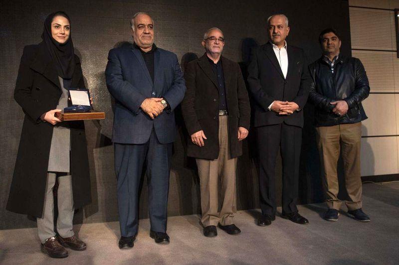 تجلیل از مریم هاشمی، قهرمان کرمانشاهی ووشو جهان