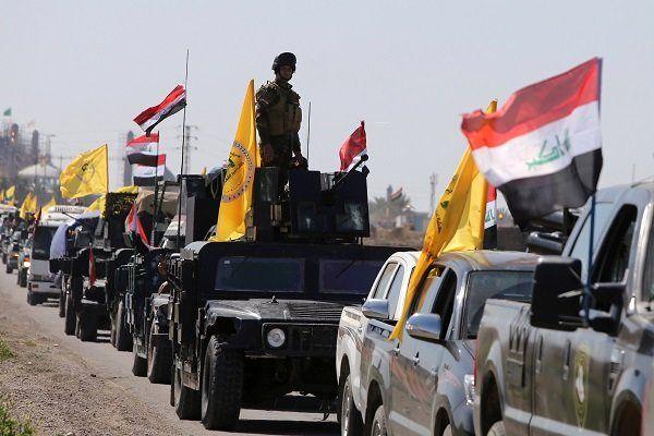حشد شعبی حمله داعش در صلاح الدین را دفع کرد