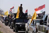 حشدالشعبی عملیات پاکسازی داعش در مرز عراق با سوریه را آغاز کرد