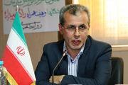 بند مشبک سرشاخه گیر رودخانه کرکرود نوشهر به بهره برداری رسید