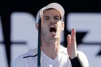 احتمال جراحی اندی ماری و غیبت طولانی مدت از دنیای تنیس