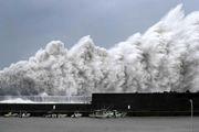 توفان در ژاپن 600 پرواز را لغو کرد