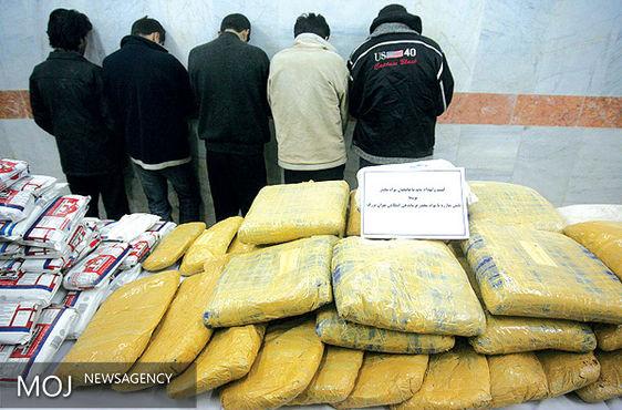 سه تن و ۴۰۱ کیلوگرم مواد مخدر در سیستان و بلوچستان کشف شد