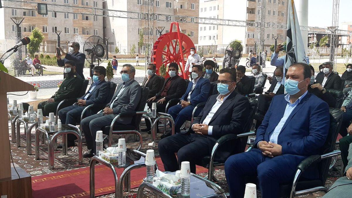 بهرهبرداری از ۱۰ پروژه مسکونی در شهر جدید گلبهار خراسان رضوی