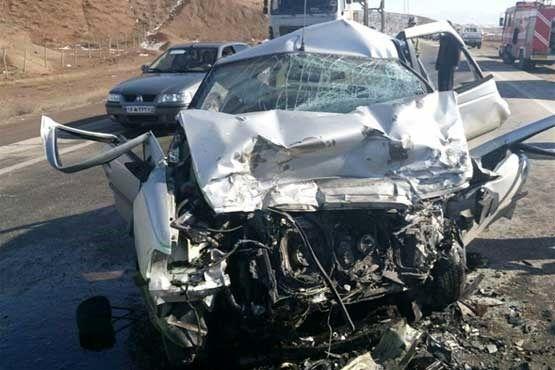 5 نفر در واژگونی سواری پژو مصدوم شدند