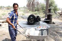 مشکل کم آبی  روستای ناصرآباد رودان رفع شد