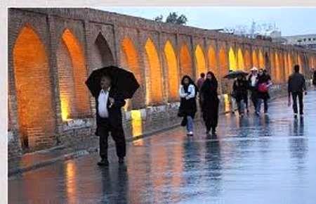 پیشبینی بارشهای فراتر از نرمال در اصفهان