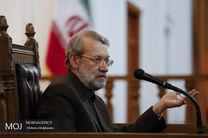 پیام تبریک لاریجانی به مناسبت روز ملی سوریه