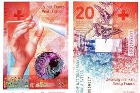 بانک ملی سوئیس از ایمن ترین اسکناس جهان رونمایی کرد