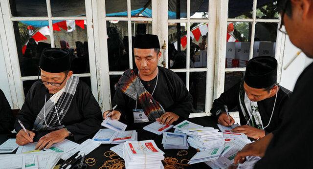 272 کشته در پی شمارش آرای انتخابات در اندونزی!