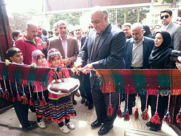 افتتاح نمایشگاه دائمی صنایعدستی در کرمانشاه