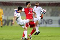 نتیجه بازی پرسپولیس و التعاون عربستان در نیمه نخست