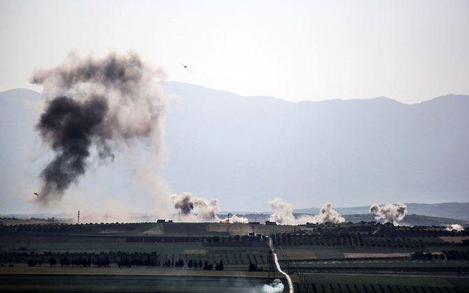 کشته شدن 6 غیرنظامی در حمله خمپاره ای به شمال غرب سوریه