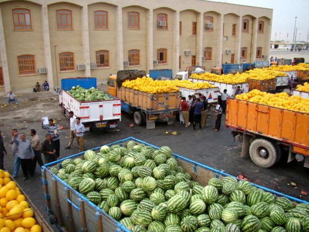 صادرات ۴۵ میلیون دلاری کالاهای کشاورزی از گمرکات آذربایجان شرقی