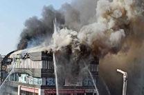 مرگ 7 نفر در اثر آتش سوزی در یک مرکز خرید در هند