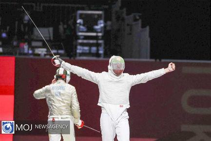المپیک توکیو رقابت های تکواندو و شمشیر بازی مردان