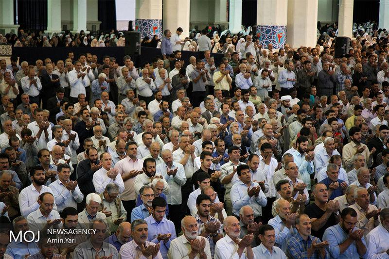 نماز عید سعید قربان اقامه شد