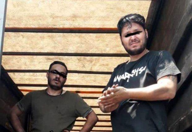 تصاویر دستگیری شهرام جزایری منتشر شد