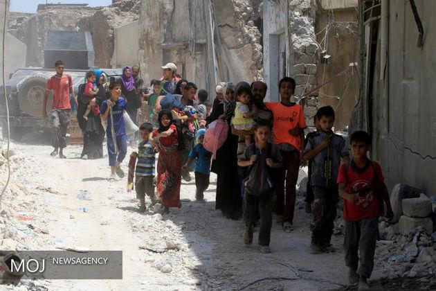 تروریست های داعش از چه حربه در موصل بهره می گرفتند