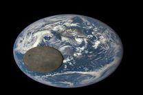 ماه و زمین کنار هم از منظر فضا + عکس