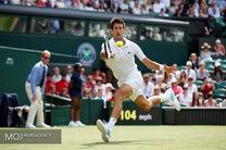 صعود جووکویچ به نیمه نهایی تنیس ویمبلدون
