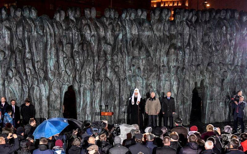 یادمان قربانیان جنایت های استالین در مسکو رونمایی شد