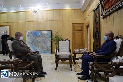 جلسه هم اندیشی وزیر کشور دولت سیزدهم و دوازدهم