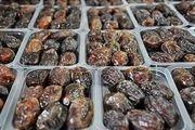 کشف 14 هزار کیلو خرمای فاسد در اصفهان