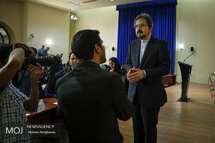 نشست خبری بهرام قاسمی سخنگوی وزارت امورخارجه
