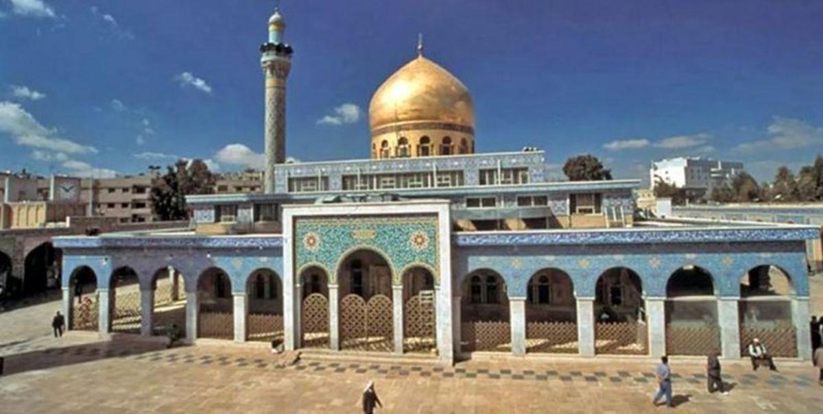 ۱۶۰۰ متر از صحن حرم حضرت زینب (س) مسقف میشود