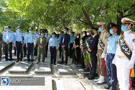 اولین سالگرد درگذشت فرمانده فقید نیروی هوایی ارتش