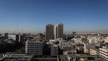 کیفیت هوای تهران ۸ فروردین ۹۹/ شاخص کیفیت هوا به ۴۸ رسید