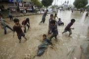 باران های شدید و سیل در کراچی، 6 کشته برجا گذاشت