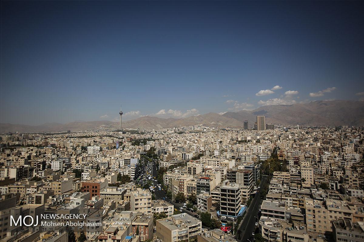 کیفیت هوای تهران ۲۹ اردیبهشت ۱۴۰۰/ شاخص کیفیت هوا به ۸۱ رسید