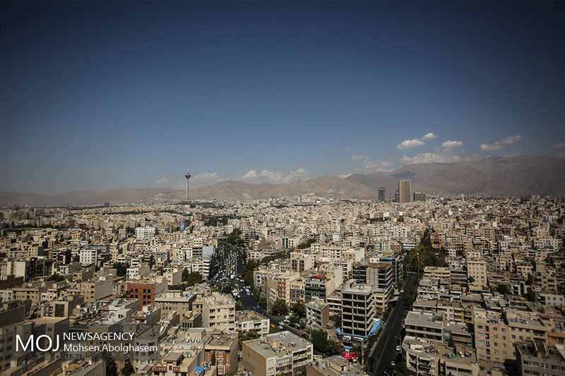 کیفیت هوای تهران ۲۴ دی ۹۸ سالم است/ شاخص کیفیت هوا به ۹۸ رسید