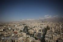 کیفیت هوای تهران در 24 آذر ماه سالم است
