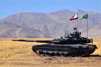 کرار نخستین تانک پیشرفته بومی کشور با حضور وزیر دفاع رونمایی و خط تولید انبوه آن افتتاح شد