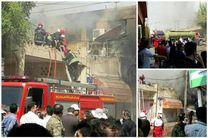 آتشسوزی پاساژ رضوان اهواز خوب اداره نشد